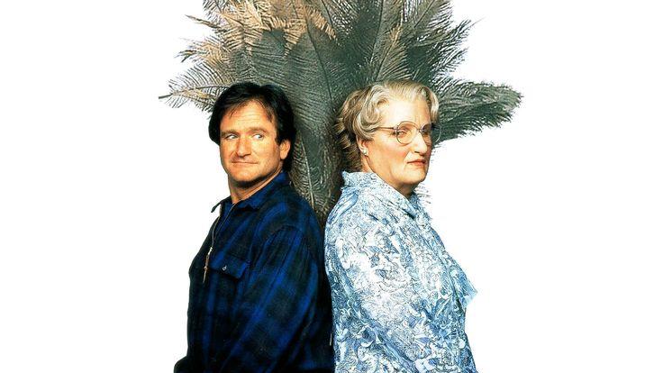 Mrs. Doubtfire - Apa csak egy van /Mrs. Doubtfire/ magyarul beszélő, amerikai vígjáték, 125 perc, 1993   Daniel Hillard/Mrs. Doubtfire Robin Williams Miranda Hillard Sally Field