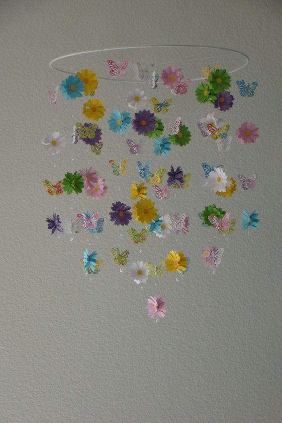 fleur de papillon de marguerite de b b portable papillon color mobile 14 pouces mobile. Black Bedroom Furniture Sets. Home Design Ideas