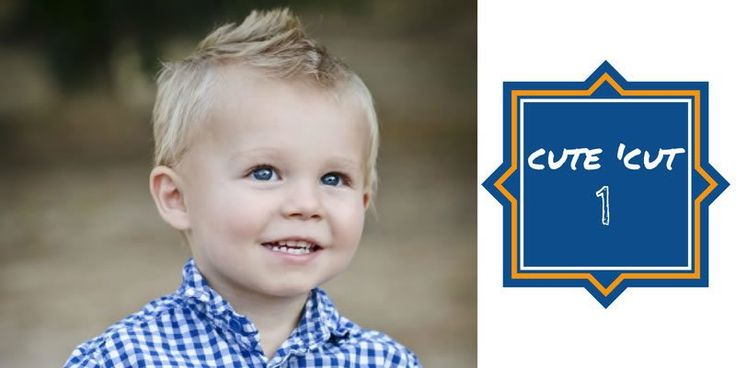 Choosing a haircut for your little boy can be daunting. Check out a few of the really stinkin' cute styles I found in my search for my own little fella.