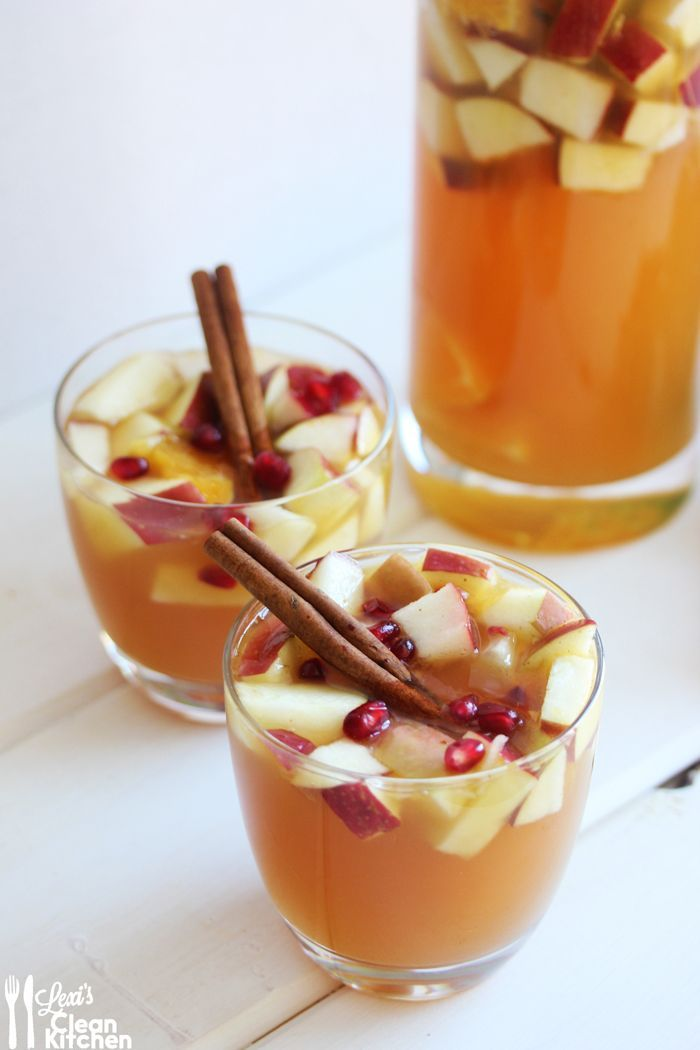 Easy Sangria Recipes for Fall — Great for a fall party, an adult birthday party, or a cocktail party.