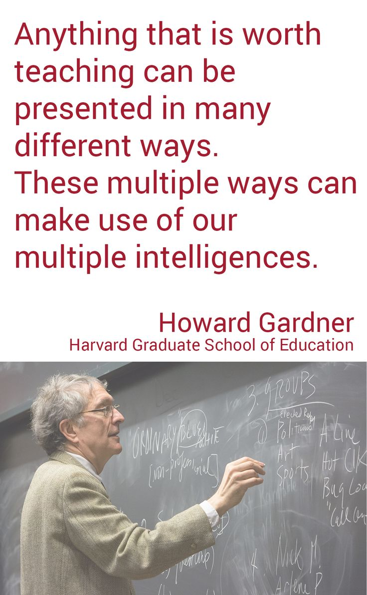 howard gardner Howard gardner pioneered a new way of thinking about intelligence that is  unconventional but well received his theory has practical application.
