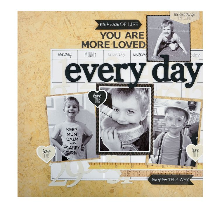Every Day - Kaisercraft - Hello Today Collection
