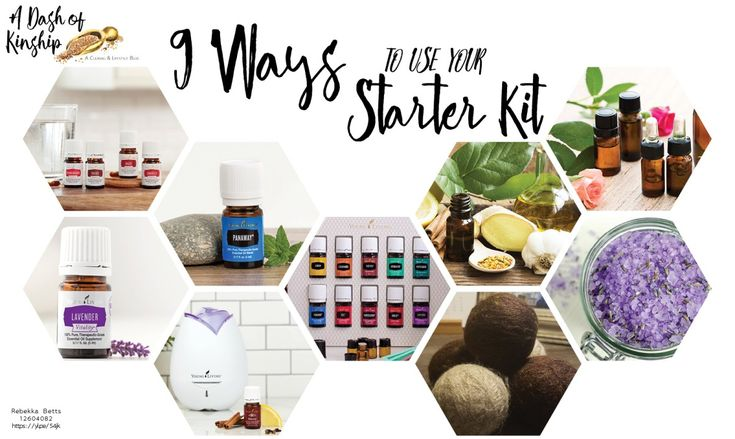 9 ways to use your Young Living Premium Starter Kit