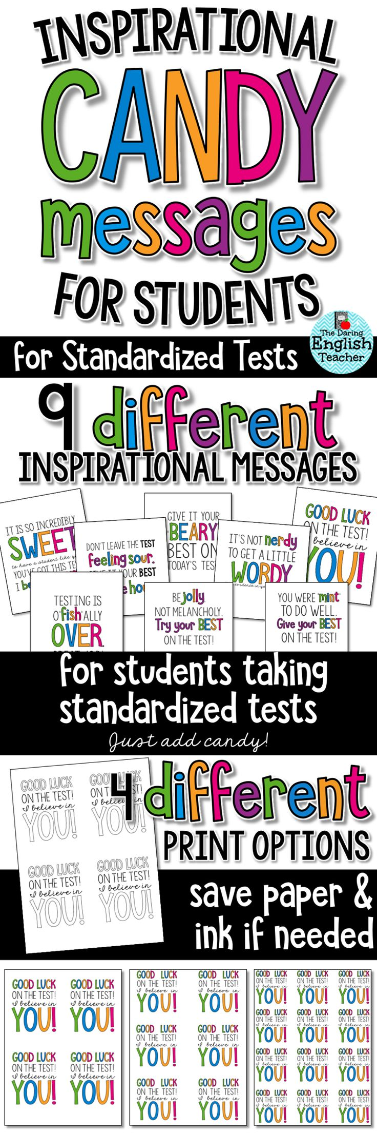44 best images about EOG Encouragement on Pinterest | Note ...