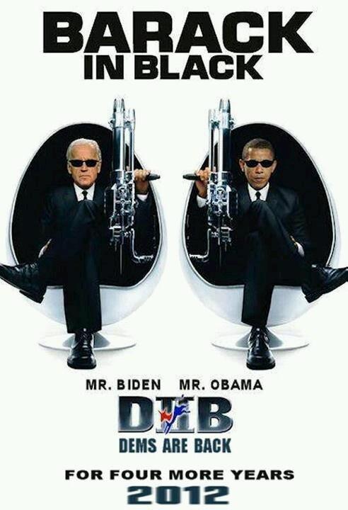 President Barack Obama & Vice President Joe Biden; I love these two guys....