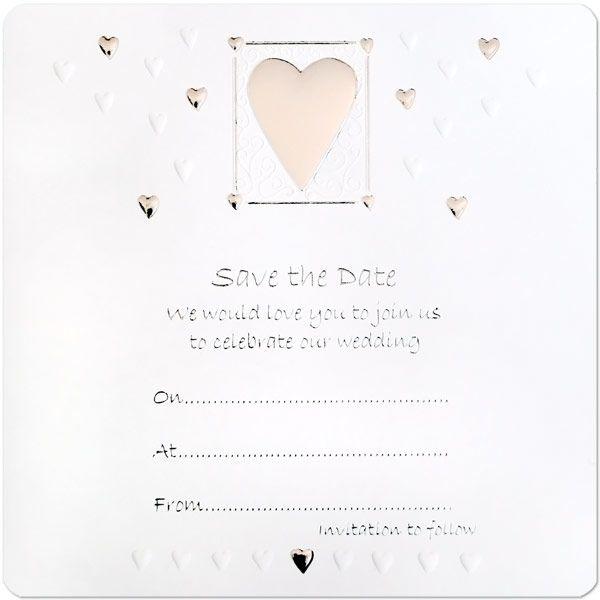 WeddingWedding Save The Date Cards£3.2510pk