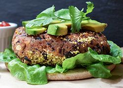 Santa Fe Black Bean Burger
