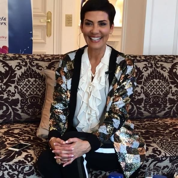 A l'occasion du lancement des nouveautés Head & Shoulders, nous avons rencontré Cristina Cordula !