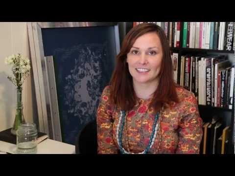 Marni Franks: Textile design & running a creative business. - YouTube