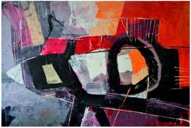 "Saatchi Art Artist Tapas Roy; Painting, ""Prototype-N"" #art"