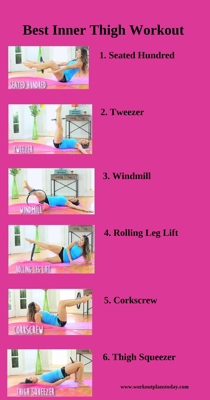 best THIGH WORKOUTS images on Pinterest  Physical activities