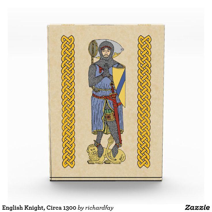 English Knight, Circa 1300 Photo Block