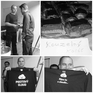 Náš programátor Aleš s námi oslavil své krásné kulaté narozeniny. Grafici mu jako překvapení vytvořili vtipné tričko, které prý pochopí jen programátoři. Tak co…zasmáli jste se? :)   #narozeniny
