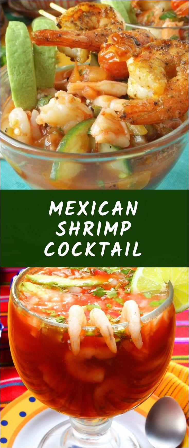 Mexican Shrimp Cocktail Coctel De Camarones Mexican Shrimp Cocktail Vegetarian Recipes Vegan Recipes Easy