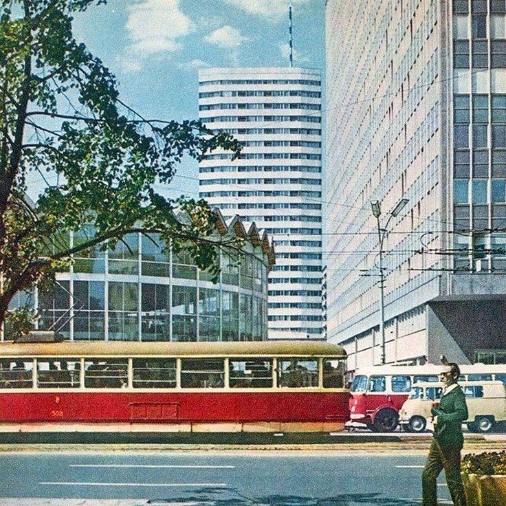 Warszawa,lata 70-te. Fot. Chris Niedenthal