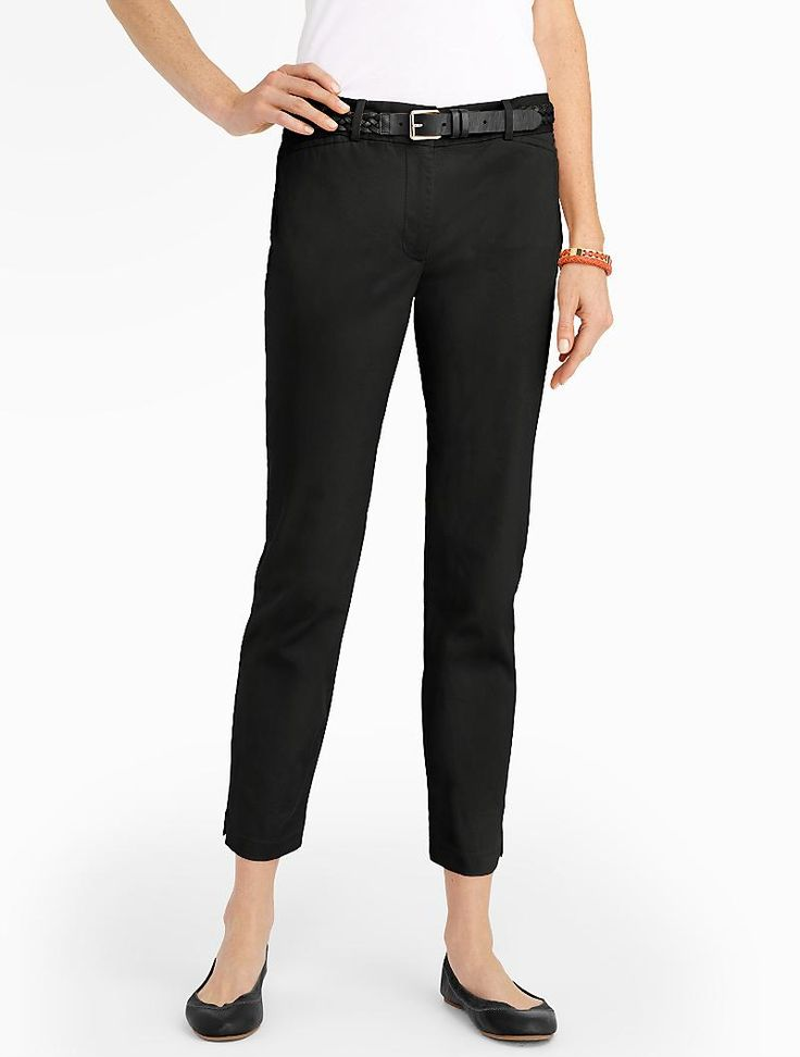 Talbots - The Perfect Crop   Pants  