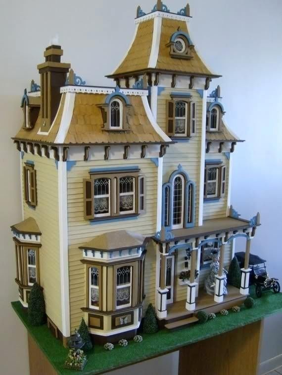 New In Box Greenleaf Beacon Hill Victorian Dollhouse Kit 1 Inch