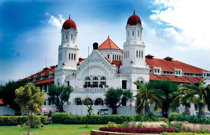 The mos mystical place in Semarang, Lawang Sewu.