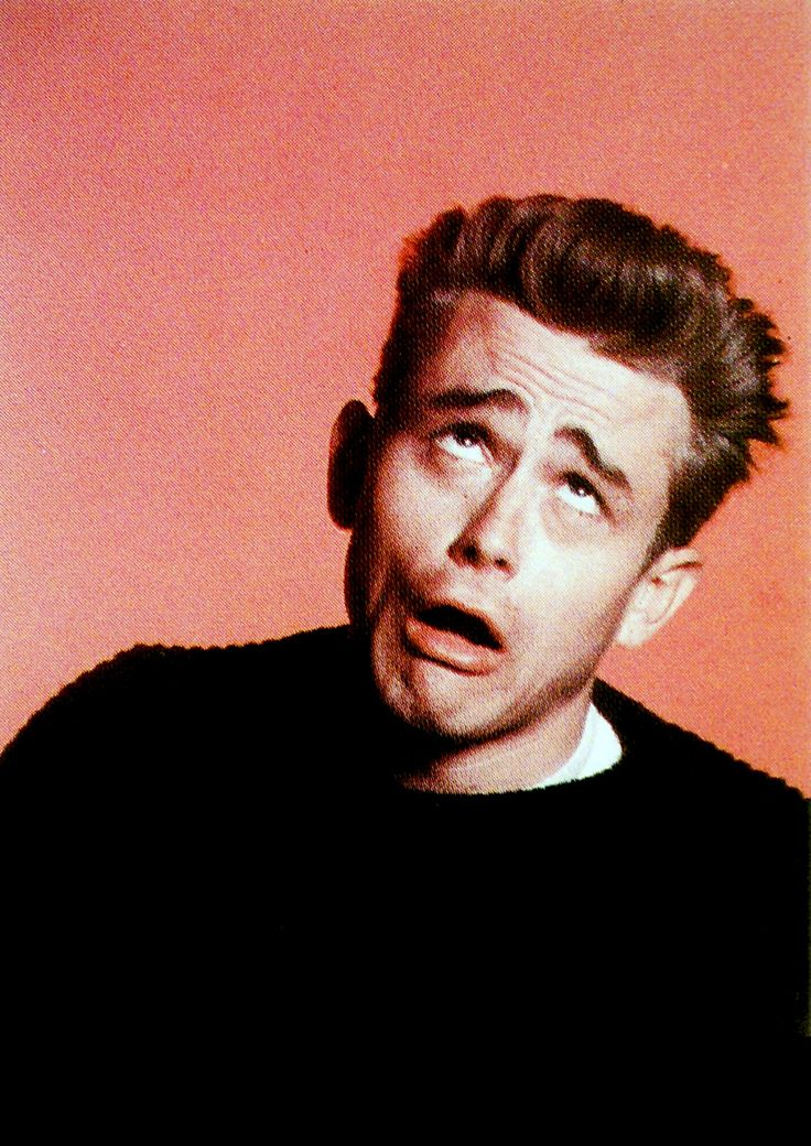 James Dean, Photo Phil Stern ;; regardless, he's still gorgeous. Plus this is hilarious