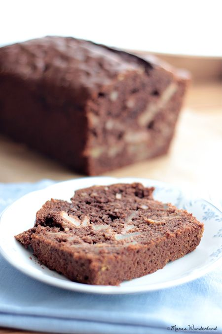 Scroll down its in English too! Chocolate apple cake
