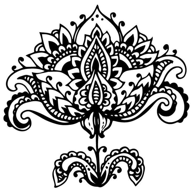 Henna Design Temporary Tattoos #639