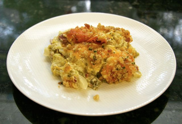Cabbage and Cheddar Bake with Bacon | FOOOOD NUMMAYS | Pinterest