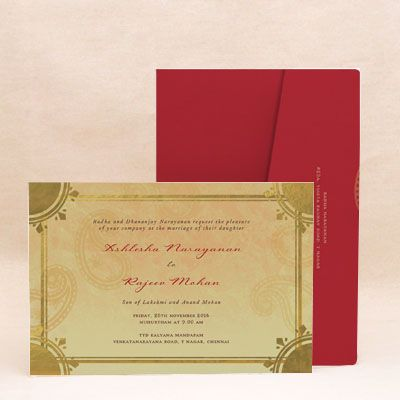 This gold foil pressed wedding card is surely going to reflect your style and personality, while complementing your overall wedding theme and illustrating how special your wedding day means for you. ! In this card, the gold combined with darker tones of beige rightfully stands for extravagance, nobility, and prestige #WeddingCard #WeddingInvite #WeddingInvitations #WaterColor #IndianWedding #paisleys #ChristianWedding #YouAreInvited #Foil #Gold #Bling #Blue #Violet #RSVP #SaveTheDate