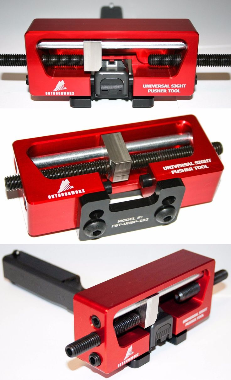 Smithing Equipment 73962: Universal Handgun Sight Pusher Tool For 1911 Springfield Glock Sig Pistol Others -> BUY IT NOW ONLY: $67.95 on eBay!