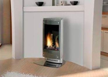 Heat & Glo VRTIKL Freestanding Gas Fireplace