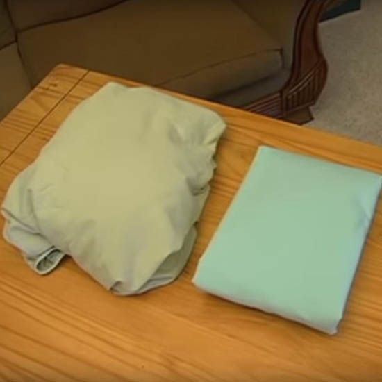 watch this video will show you how to fold a fitted sheet - How To Fold Fitted Sheets