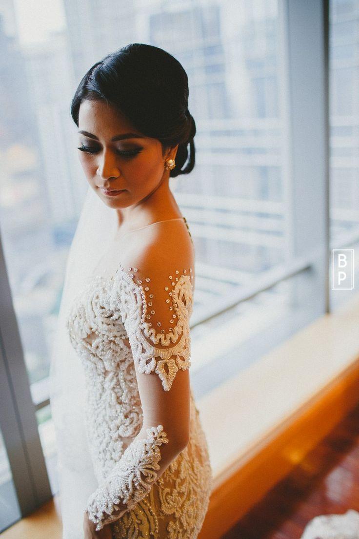 Pernikahan Fauziah dan Troy di Jakarta