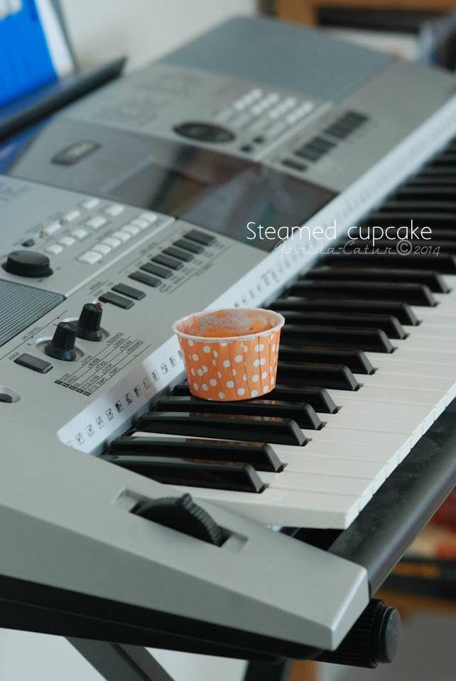 Steamed cupcake