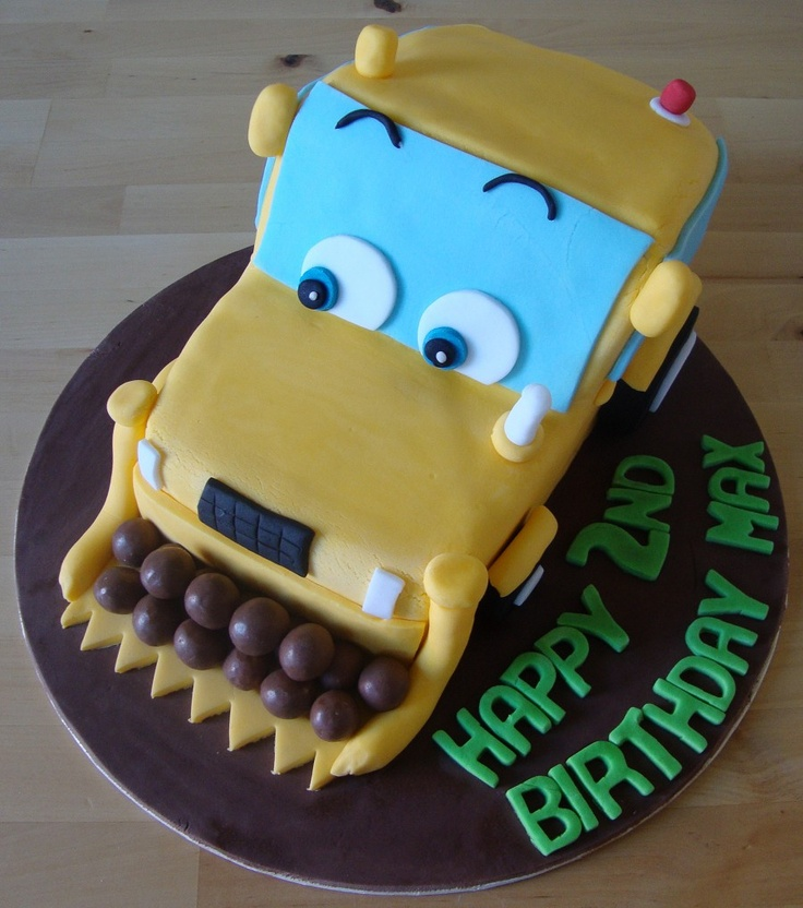 Cake Decorating Job Lot : 12 best images about Digger cakes on Pinterest Cars ...