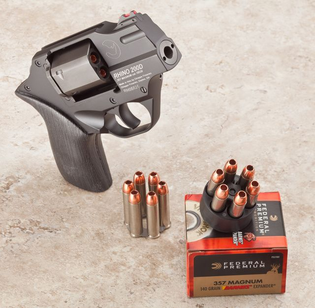 Chiappa Rhino 200D: A hammerless 2'' version of the Rhino revolver. | Compact Pistols ...