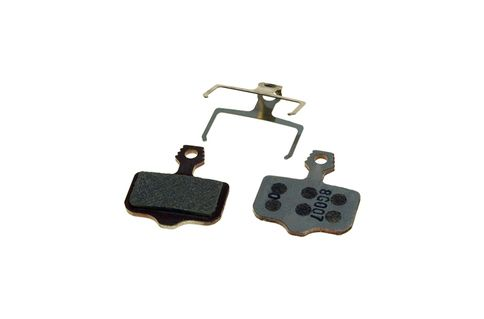 #Avid Elixir Disc Brake Pads Organic Compound #The Avid Elixir Disc Brake Pads Organic Compound Steel Backplate are replacement pads, ideal for performing in the cold weather, and the Organic compound will last longer than the Sintered compound.