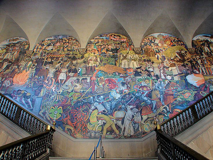 3036 best diego rivera images on pinterest diego rivera for Mural de rivera