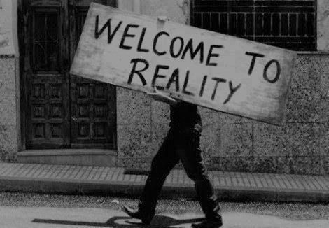 reality, welcome, and black and white εικόνα