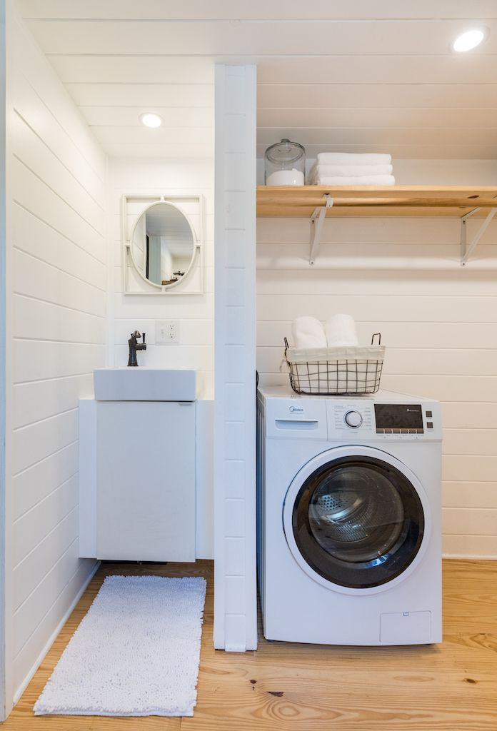 Irving Tiny House On Wheels With Downstairs Bedroom House On Wheels Tiny House Home