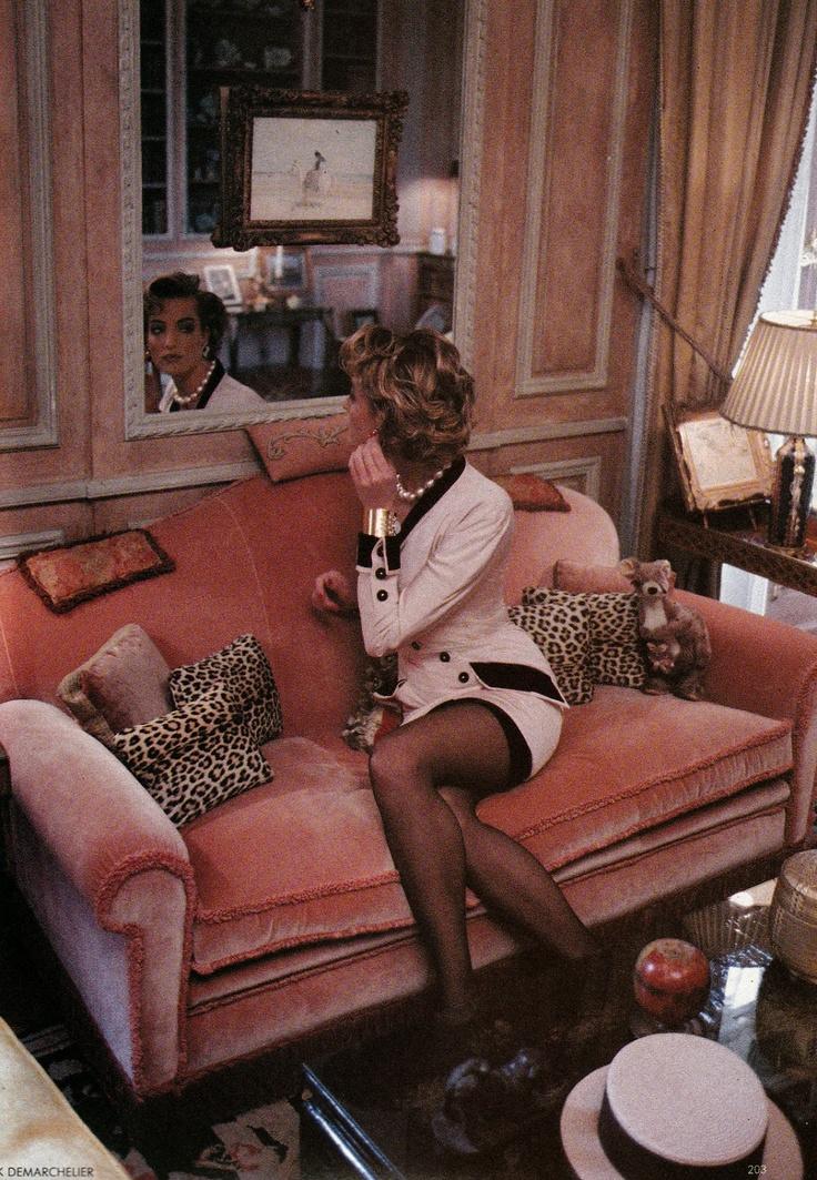 ☆ Tatjana Patitz   Photography by Patrick Demarchelier   For Vogue Magazine UK   April 1990 ☆ #tatjanapatitz #patrickdemarchelier #vogue #1990