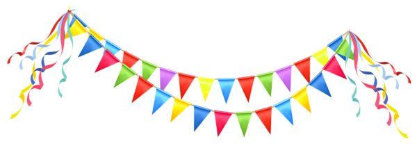 Transparent Party Streamer PNG Clipart Picture