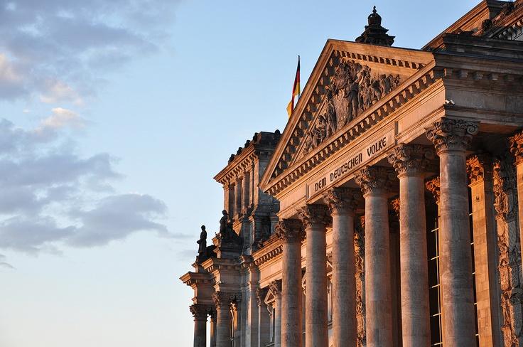 Das Reichstagsgebäude, Berlin