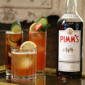 THE PIMM'S CUP AND BEYOND: 3 COCKTAILS TO MAKE WITH PIMM'S NO. 1