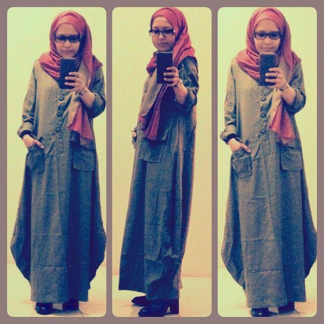 Abaya linen # abaya # hijab # hijab fashion