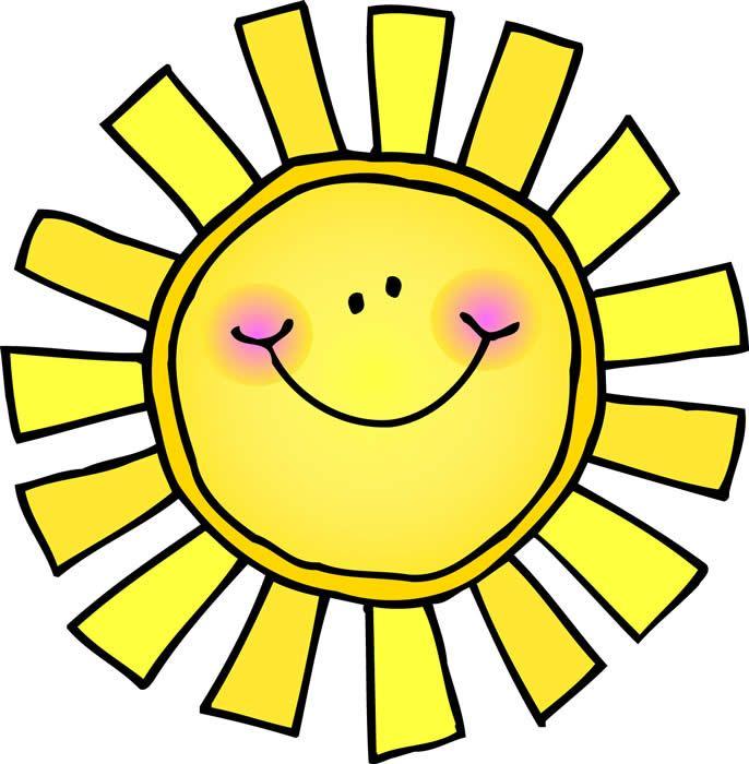 cute sun clipart - Google Search More
