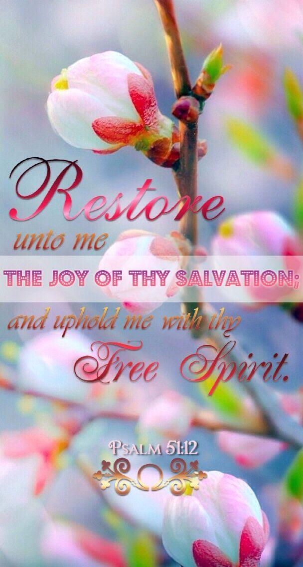 Psalm 51:12 ❤️