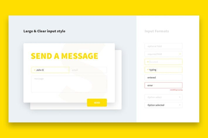 Yellow Input Style #inputs #form  • Download here → http://1.envato.market/c/97450/298927/4662?u=https://elements.envato.com/yellow-input-style-8NTFBR