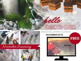 Hello December!  Νέο #post στο #diaryofabeautyaddict με όλες τις αναρτήσεις του Νοεμβρίου και ΔΩΡΕΑΝ ημερολόγιο Δεκεμβρίου για φόντο υπολογιστή!  #greekblogger #bbloggersgr #greekbloggers #bbloggers #instablogger #lbloggers #eldesigncreations #december #hellodecember