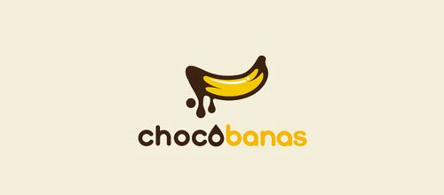 chocobananas logo design