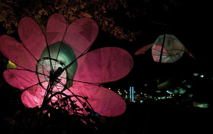 Night Lanterns - Wiltz. the annual gathering of artists, ensembles and musical theater.