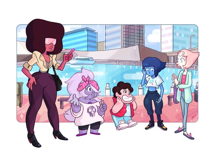 smilequotas:  Gems' Day Out! Lapis is not sure how she should feel about her outfit…